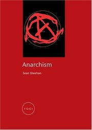 Cover of: Anarchism (Reaktion Books - Focus on Contemporary Issues)