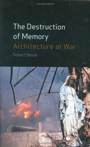 Cover of: The Destruction of Memory