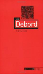 Cover of: Guy Debord (Reaktion Books - Critical Lives) | Andy Merrifield