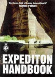 Cover of: Royal Geographic Society Expedition Handbook (Royal Geographical Society)