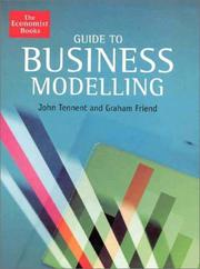 Cover of: Guide to Business Modelling | John Tennent, Graham Friend