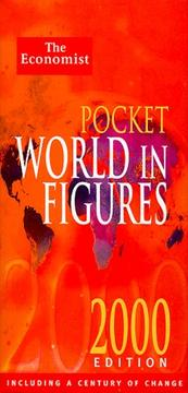 Cover of: The Pocket World In Figures 2000