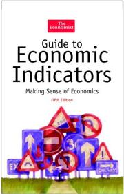 Cover of: Guide to economic indicators