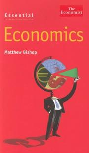 Cover of: Essential Economics