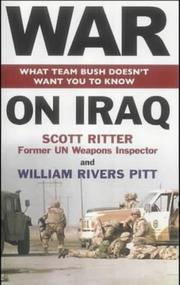 Cover of: War on Iraq