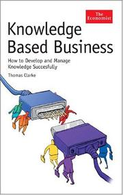 Cover of: Knowledge-Based Business | Thomas Clarke