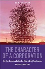 Cover of: Character of a Corporation