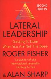 Cover of: Lateral Leadership