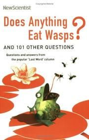 Cover of: Does Anything Eat Wasps? (New Scientist)