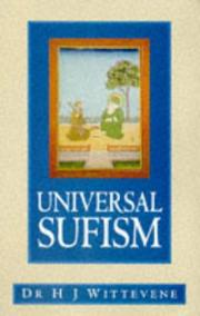 Cover of: Universal sufism