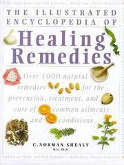 Cover of: Illustrated encyclopedia of Healing remedies