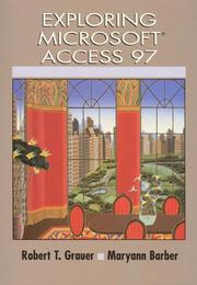 Cover of: Exploring Microsoft Access 97