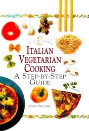 Cover of: Italian vegetarian cooking: a step-by-step guide