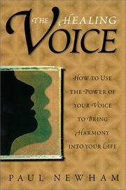 Cover of: The healing voice