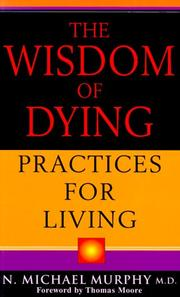 Cover of: The wisdom of dying