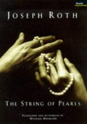 Cover of: THE STRING OF PEARLS