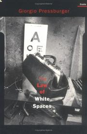 Cover of: The law of white spaces