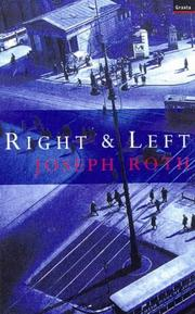 Cover of: Right and Left