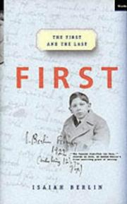 Cover of: First and the Last
