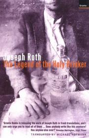 Cover of: The legend of the holy drinker