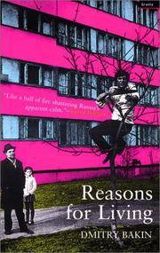 Cover of: Reasons for living