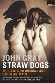 Cover of: Straw Dogs | John Gray