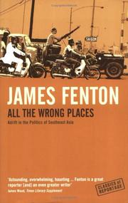 Cover of: All the Wrong Places (Classics of Reportage)