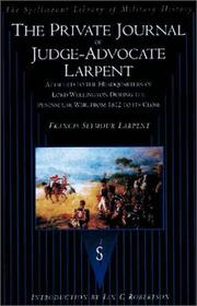 Cover of: Private Journal of Judge-Advocate Larpent