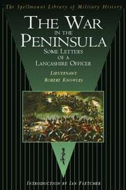 Cover of: WAR IN THE PENINSULA