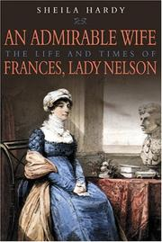 Cover of: AN ADMIRABLE WIFE