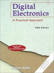 Cover of: Digital electronics | William Kleitz