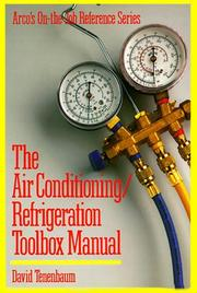 Cover of: Air Cond/Refrig Tb, 11P