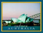 Cover of: Sydney, Australia- Australia In Photographs