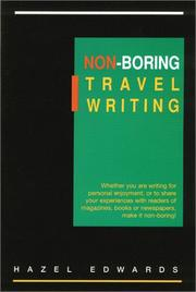 Cover of: Non-Boring Travel Writing