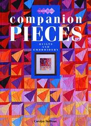Cover of: Companion Pieces (Quilters Workshop)
