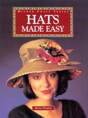 Cover of: Hats Made Easy (Milner Craft) | Lyn Waring
