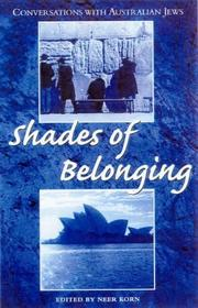 Cover of: Shades Of Belonging: