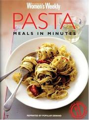 Cover of: Pasta Meals in Minutes