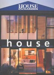 Cover of: House (Australian House & Garden)