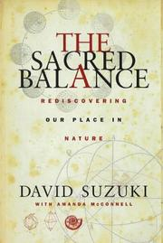 Cover of: The Sacred Balance