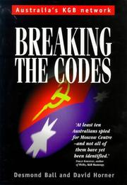 Cover of: Breaking the Codes | Desmond Ball