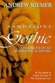 Cover of: Sandstone gothic