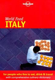 Cover of: Lonely Planet World Food Italy | Matthew Evans
