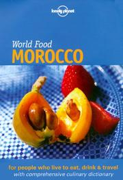 Cover of: Lonely Planet World Food Morocco | Catherine Hanger