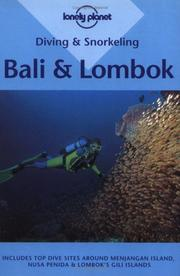 Cover of: Diving & snorkeling, Bali & Lombok
