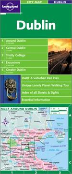 Cover of: Lonely Planet Dublin City Map