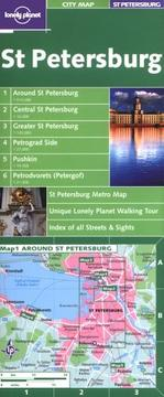 Cover of: Lonely Planet St Petersburg City Map
