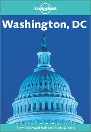 Cover of: Lonely Planet Washington, Dc (Lonely Planet Washington,  Dc) | Laura Harger