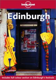 Cover of: Lonely Planet Edinburgh | Neil Wilson