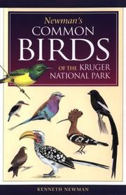 Cover of: Newman's common birds of the Kruger National Park